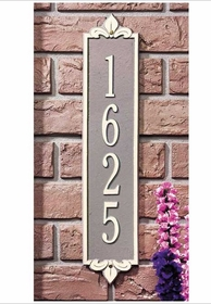 Whitehall Vertical/Horizontal Address Plaques