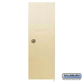 Salsbury 3551SAN Vertical Mailbox Door Standard Replacement Sandstone