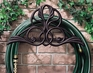 Whitehall Victorian Hose Holder - French Bronze