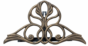 Whitehall Victorian Hose Holder - Oil Rub Bronze