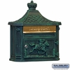 Salsbury 4460GRN Victorian Mailbox Surface Mounted Green