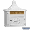 Salsbury 4460WHT Victorian Mailbox Surface Mounted White
