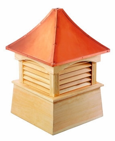 "Wood Coventry Cupola 60"" Sq X 86"" H"