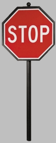 Vista Series #3  Stop Sign