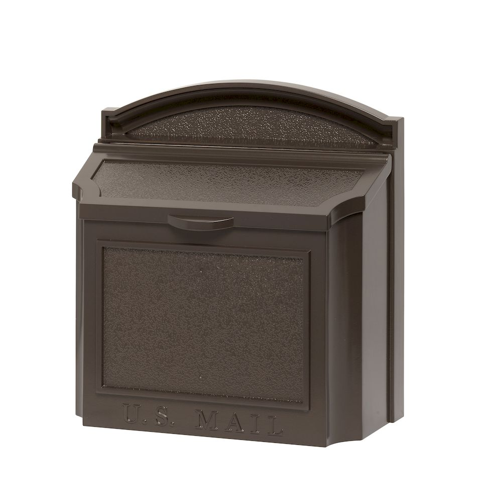 Whitehall Products Whitehall Wall Mailbox With Removable