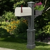 Westbrook Plus Mailbox Post Granite