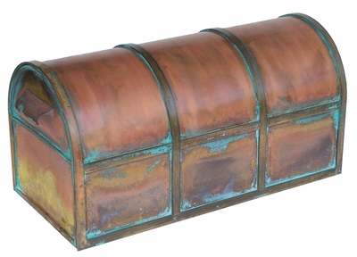 Oxford Brass Mailbox (large size)