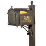 Whitehall Deluxe Mailbox Package
