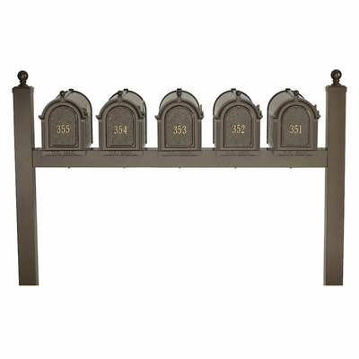 Whitehall Multi Mailbox Quint Package - Choose Color