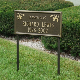 "Wilmington - Standard Lawn - Two Line ""In Memory Of"""