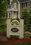 Winchester Address Sign in Clay (address plaque sold separately)