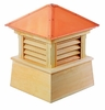 "Wood Manchester Cupola 42"" Sq X 54"" H"