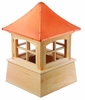 "Wood Windsor Cupola 48"" Sq X 72"" H"