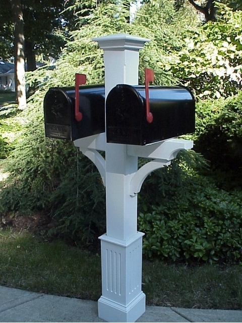 wood mailbox posts. Fine Posts Wooden Cedar Double Mailbox Post For Wood Posts