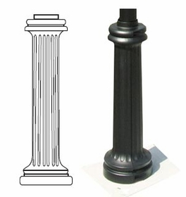 Sign Pole Decorative Bases