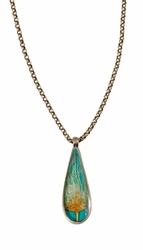 "AP Teardrop 18"" Necklace"