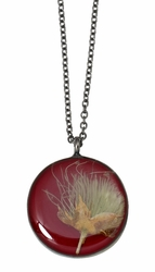 Apache Rhubarb MED Round Necklace