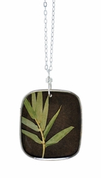 "Bamboo 16"" Lg Sq. Necklace"