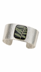 Bamboo Med Sq. Cuff Bracelet
