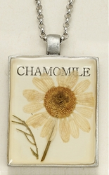 Chamomile Seed Pack Pendant Necklace
