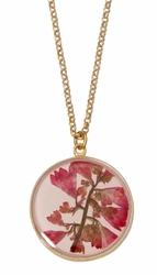 "Coral Bell Med Round 16"" Adj. Necklace"