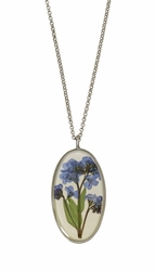 "FMN Large Oval 16"" Adj. Necklace"