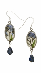 FMN Small Oval w/Drop Earrings