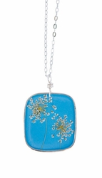 "Laceflower Belize Breeze 16"" Lg Sq. Necklace"