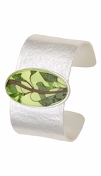 Oregano Yellow Lg Oval Cuff