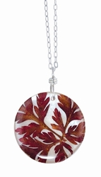 Red Fern on Shell