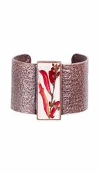 Scarlet Gilia Lg Rectangle Cuff