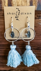 Sky Tassel Earrings