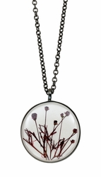 Smoketree White Med Round on Chain