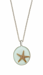 "Starfish Medium Round 16"" Adj. Necklace"