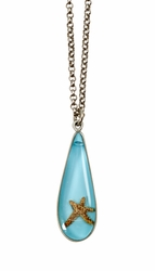 Starfish on Turquoise