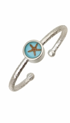 Starfish OT Small Round Bangle