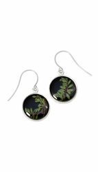 Thyme Brown SM Round Earrings