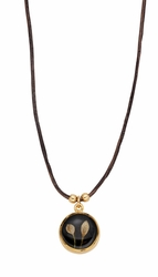 Veronica Buds Black BB Necklace