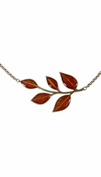 "YWS Multi Leaf 18"" Adj. Necklace"