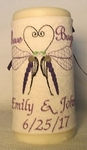 Love Bug candle wrap