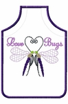 Love Bug Wine Apron