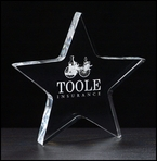 Acrylic Star Trophy