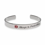 Bangle Medical Alert ID Bracelet