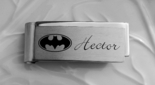 Stainless Steel Batman Money Clip