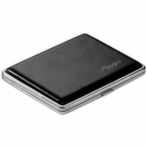 Black Leather Cigarette Case