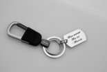 Black Waist Hanged Keychain
