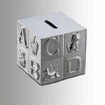 Block ABC Piggy Bank