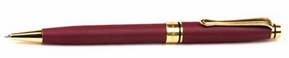 Burgundy Impella Executive Pen