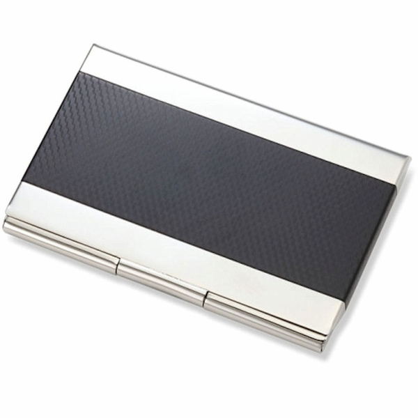 Carbon fiber stainless steel business card case business card holders carbon fiber stainless steel business card case reheart Gallery