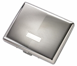 Contemporary Cigarette Case Double Sided